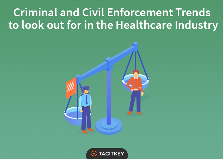 Civil and criminal Enforcement trends in Healthcare