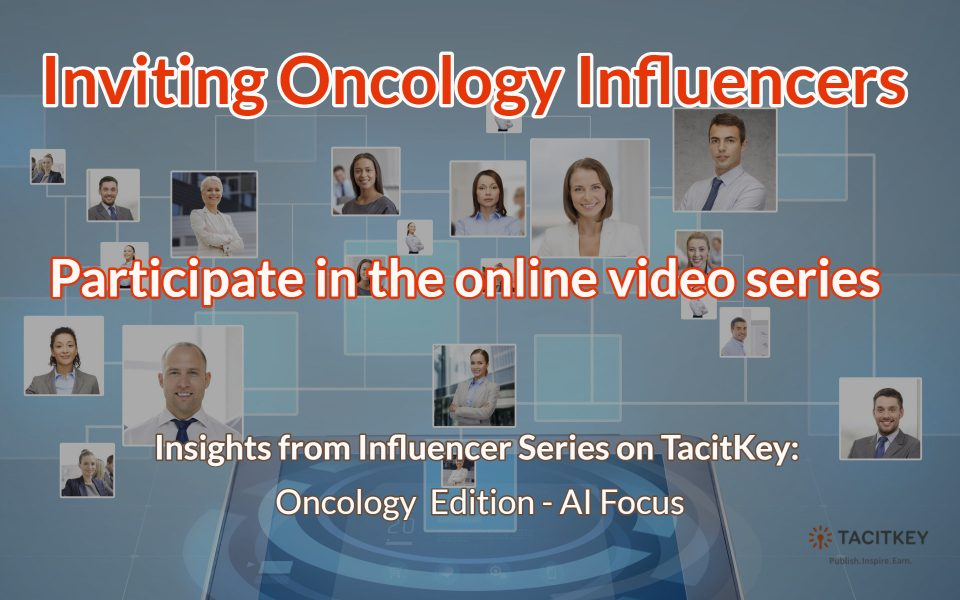 Inviting Oncology Influencers: AI Focus