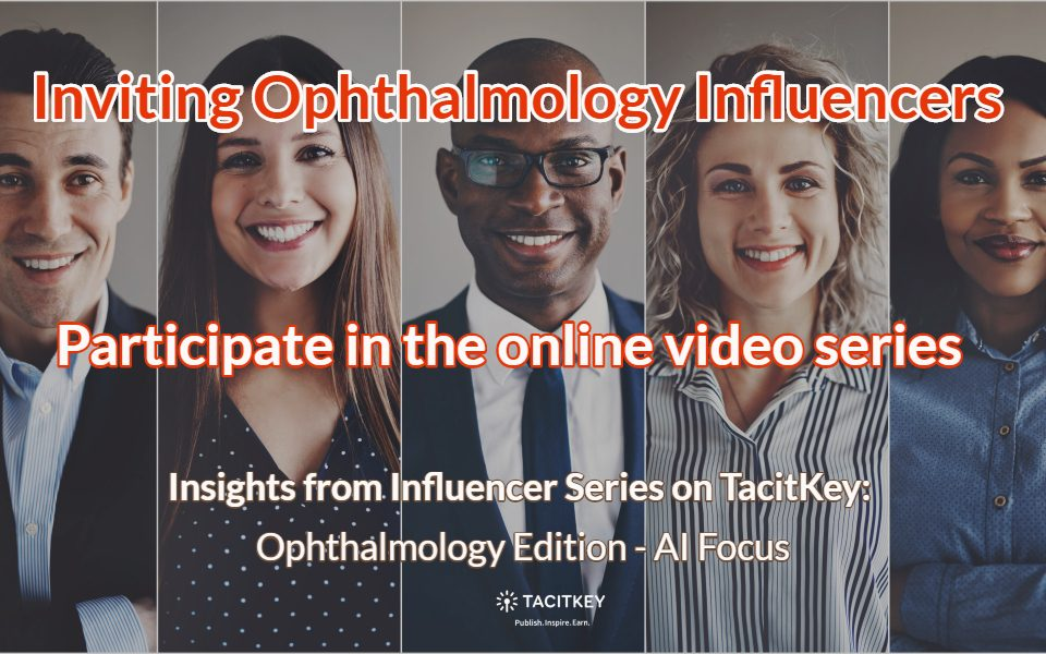 Inviting Ophthalmology Influencers: AI Focus